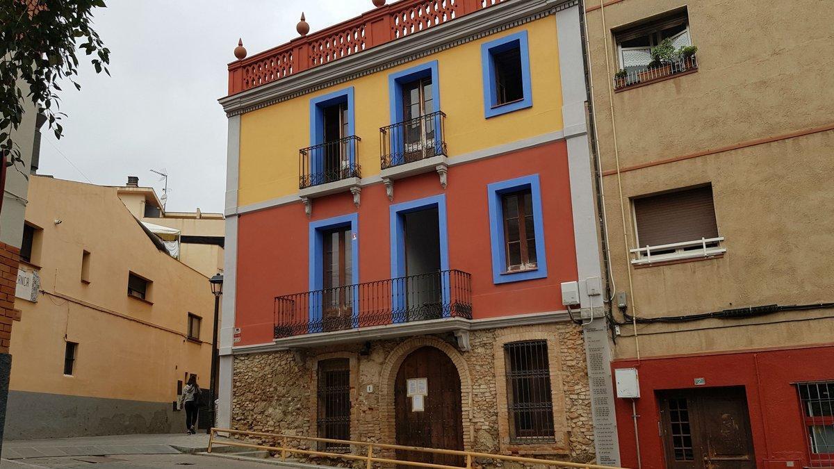 El edificio de Sant Cugat donde se instalará un museo del cómic.