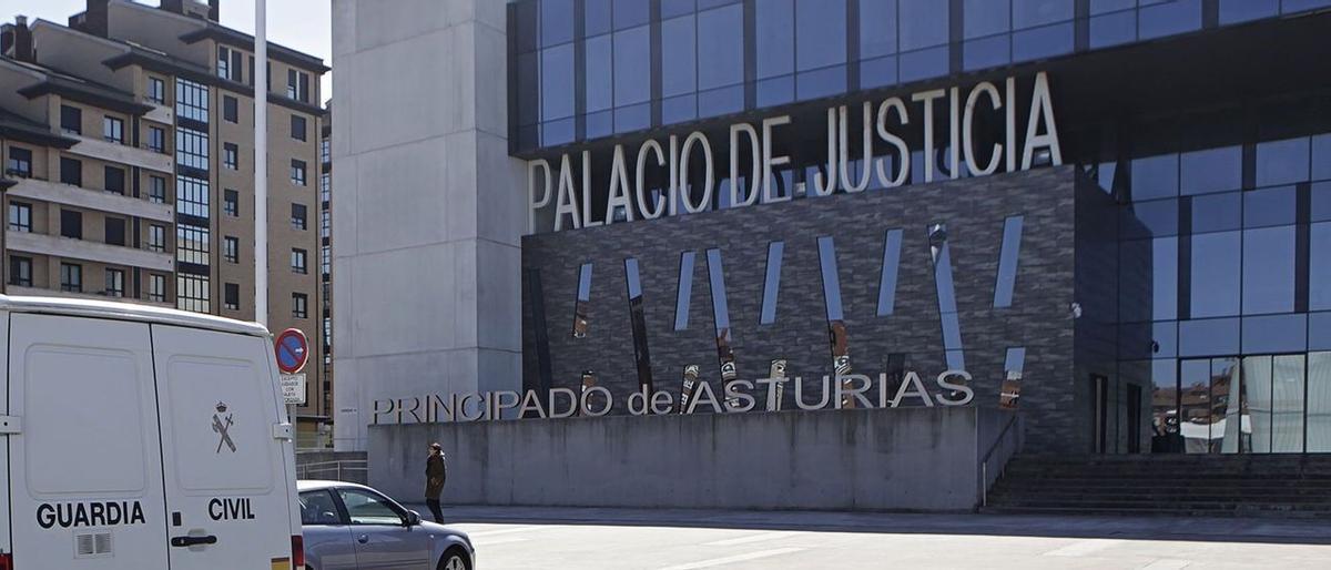 Los Juzgados de Gijón.