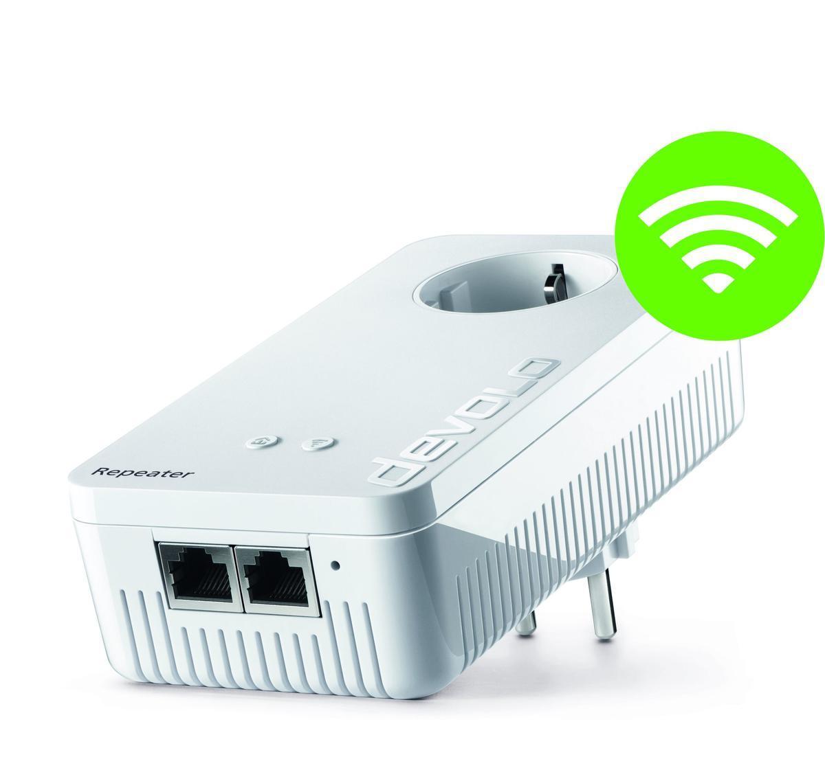 Devolo wifi Repeater+ ac, para mejorar la cobertura en casa