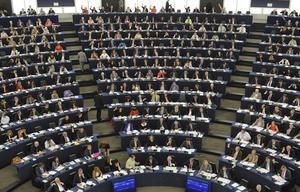 Sesión de la Eurocámara en Estrasburgo.