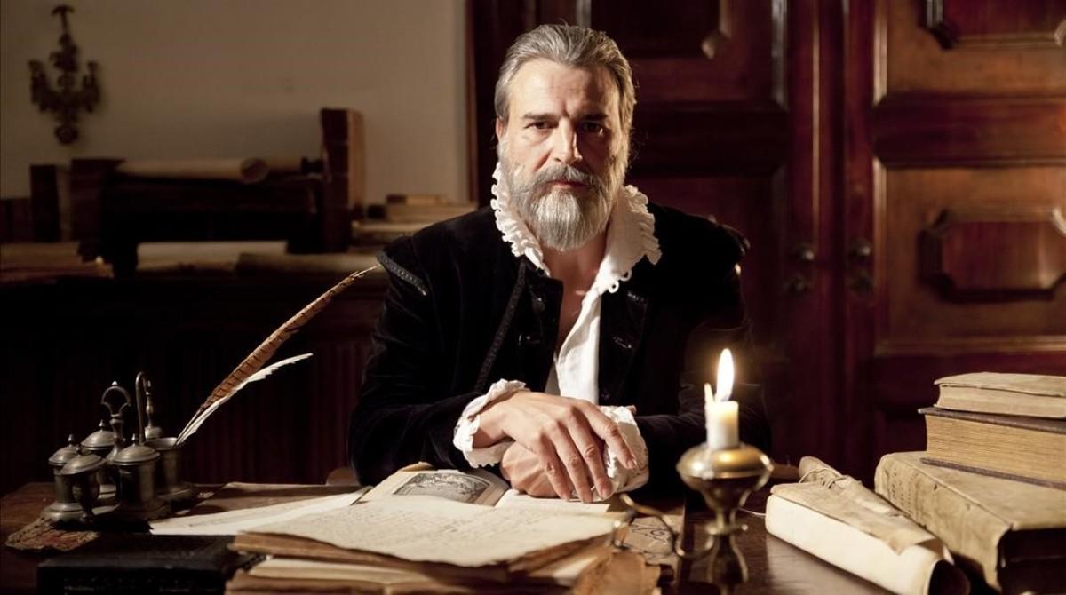 Alberto San Juan protagoniza la docuficción de La Sexta'Buscando a Cervantes'.