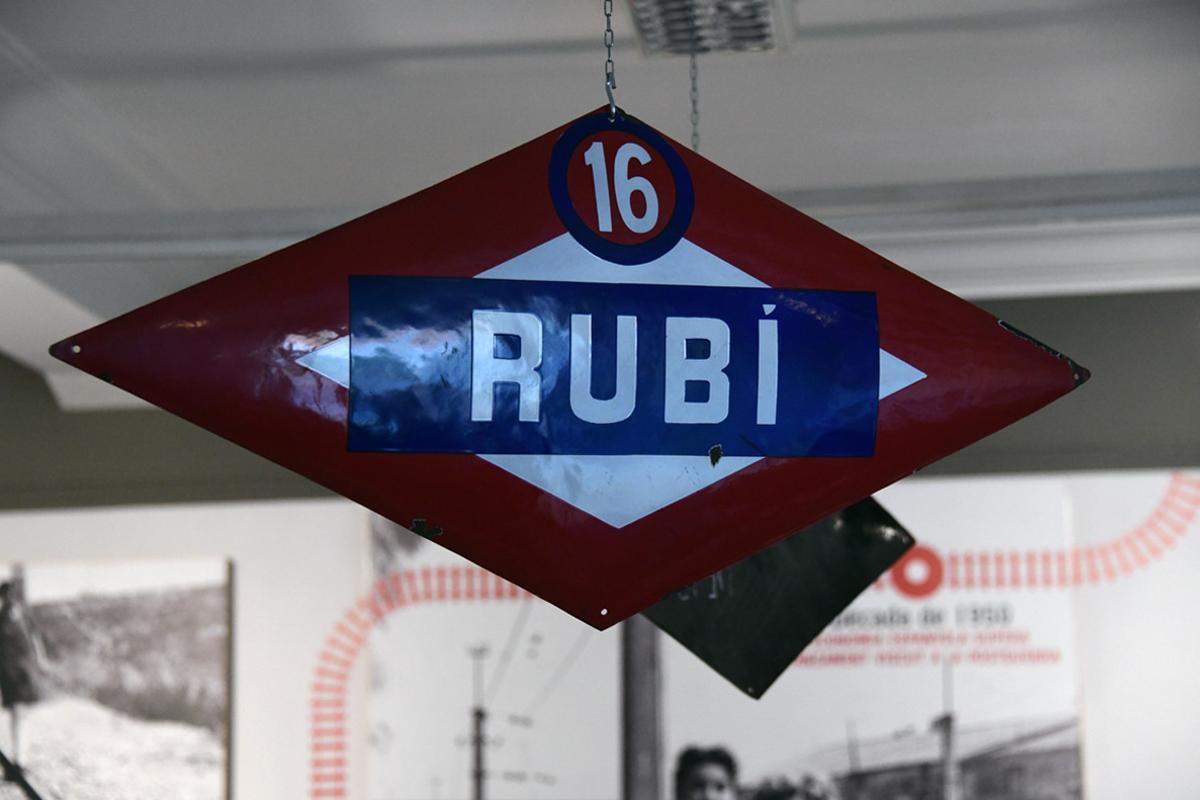 Este mes de septiembre se cumplen 100 años de la llegada del tren a Rubí