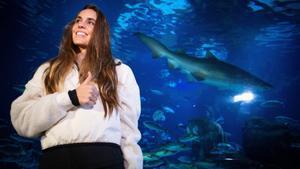 La nadadora Ona Carbonell.