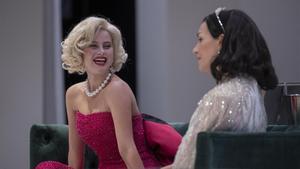 Elisabet Casanovas (izquierda) y Laura Conejero en 'Monroe-Lamarr'.