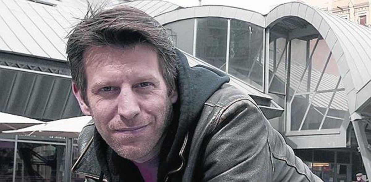 Andrew Tarbet, actor que va emigrar a Barcelona per amor
