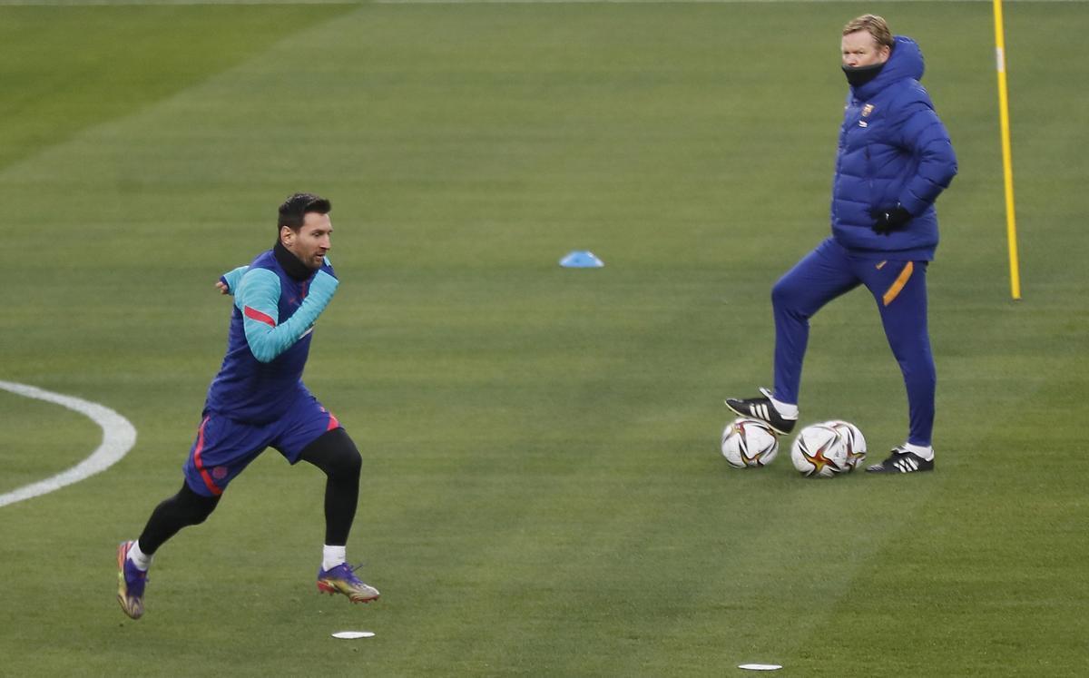 Koeman: «¿Neymar? No parlo d'ell ni del París SG, només de l'Alabès»