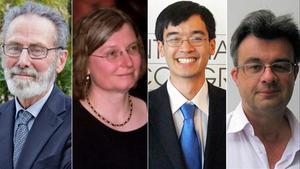 Yves Meyer, Ingrid Daubechies,Terence Tao y Emmanuel Candes.