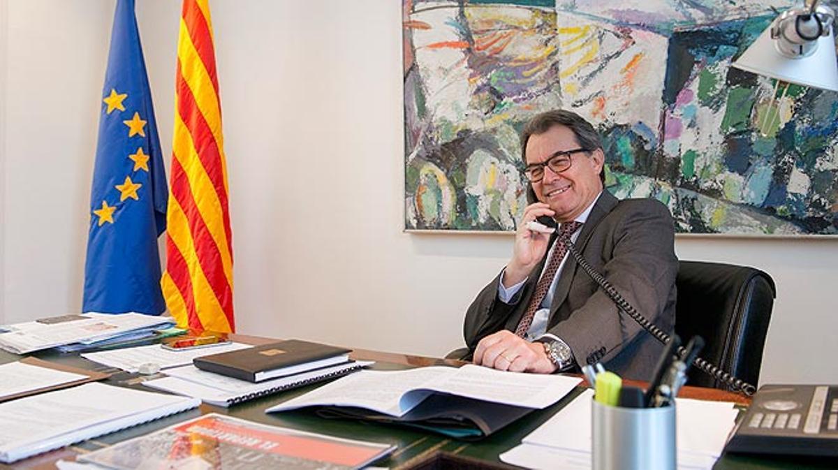 Entrevista con Artur Mas, expresidente de la Generalitat.
