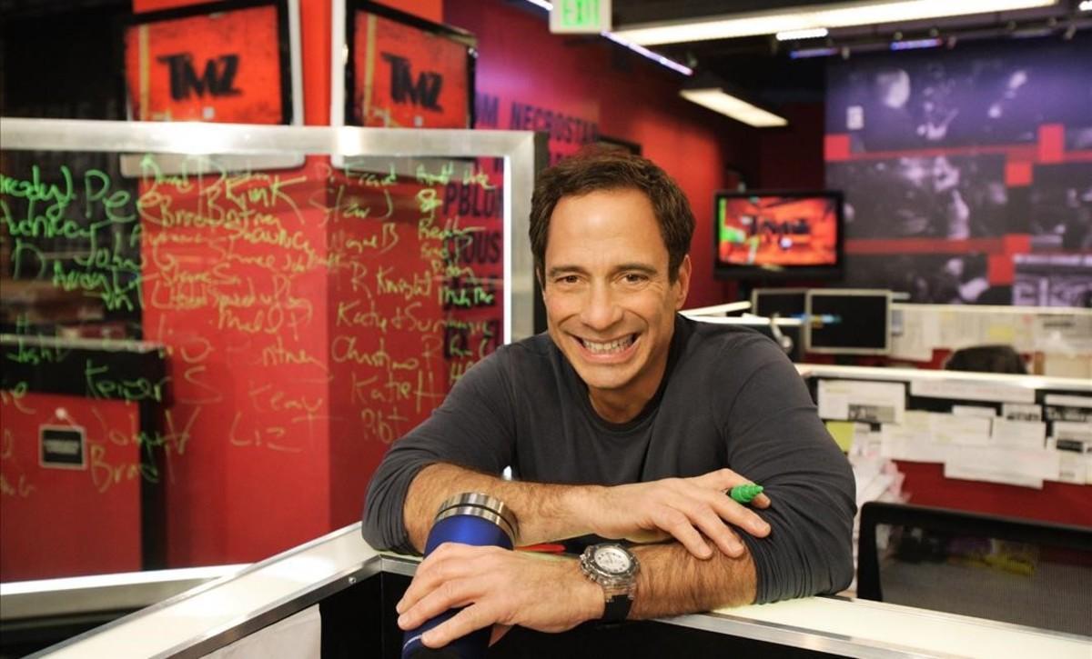 Harvey Levin, el fundador del portal de noticias sobre famosos 'TMZ'