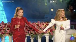 Emotives campanades amb Ana Obregón i Anne Igartiburu a TVE: «Aquesta nit vull enviar un missatge d'esperança»