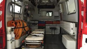La escena surrealista de un vecino madrileño con un accidente leve que acaba con cuatro ambulancias