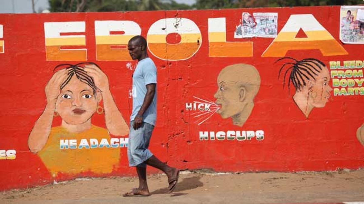 La epidemia de ébola sacudió África Occidental entre 2014 y 2016.