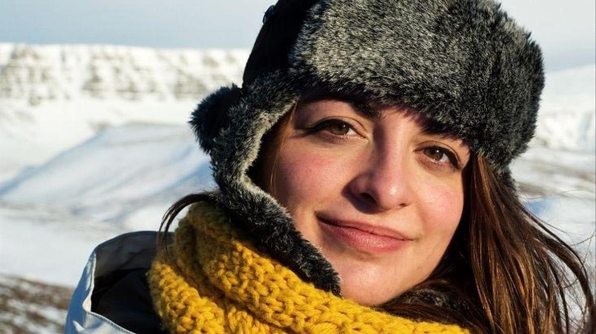 La escritora Irene Solà, ganadora del premio Documenta.