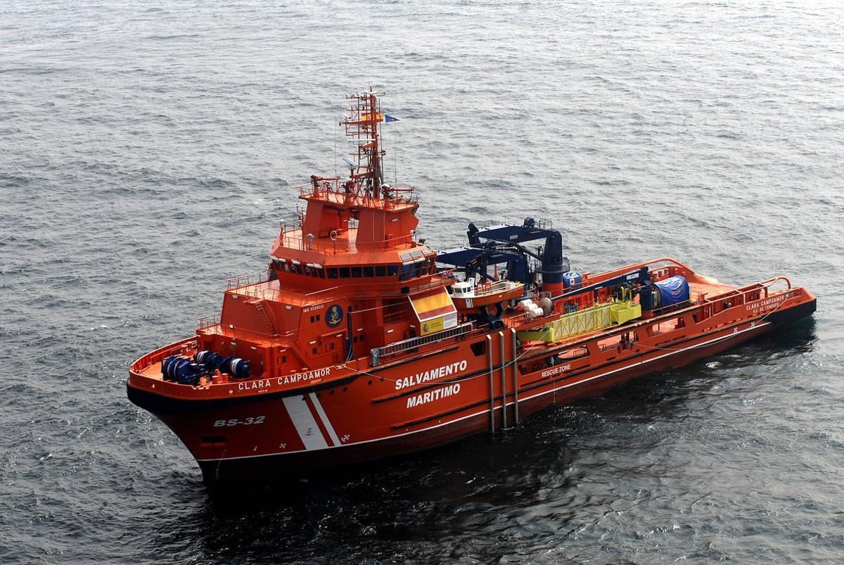 Una embarcación de Salvamento Marítimo.