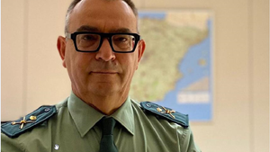 El general José Luis Tovar, jefe de la Guardia Civil en Catalunya.