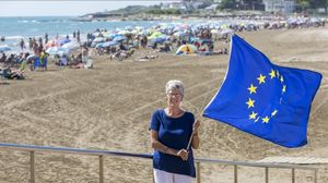 Des d'Alcossebre contra el 'brexit'