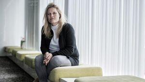 La escritora y psicóloga forense Inge Schilperoord, en Barcelona.