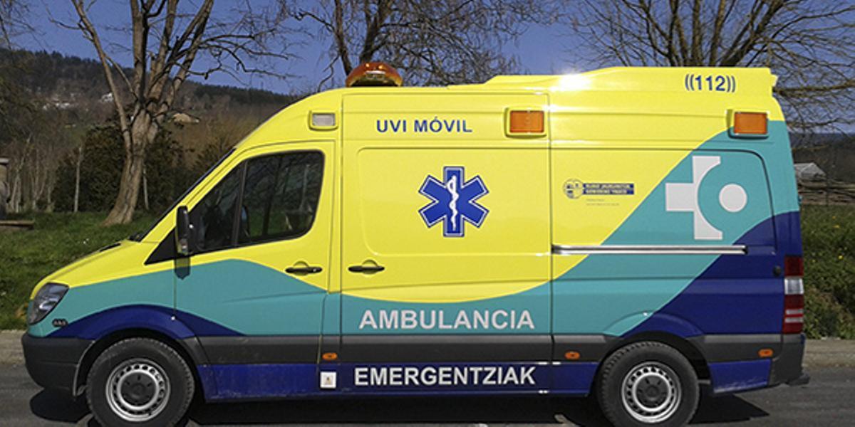 Muere un niño de 11 años en Vitoria tras caerle encima una loseta de un muro