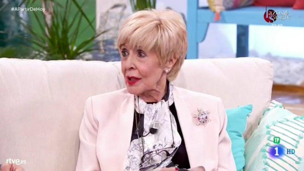 """Concha Velasco afirma que seguirá al frente de 'Cine de barrio': """"Es lo mejor que puede pasarle a TVE"""""""