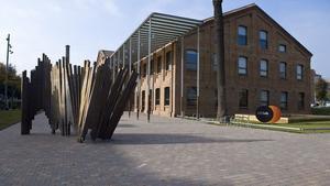 Imatge del Citilab de Cornellà, ubicat a l'antiga fàbrica de Can Suris.