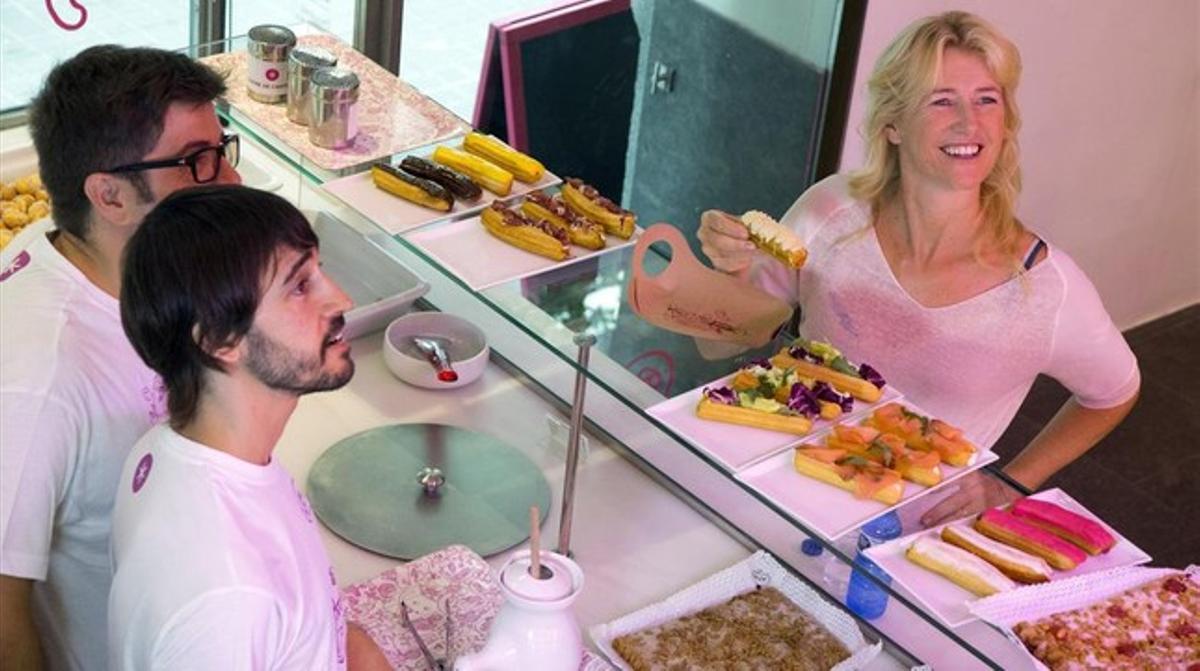 Ana Duato, en el programa sobre Barcelona de 'Un país para comérselo' (TVE).