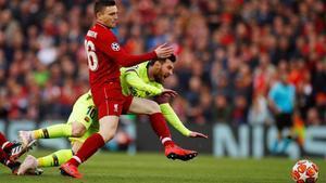 El Liverpool se ha adlantado en el marcador y sueña con la remontada