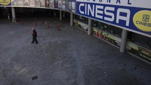 Las salas Cinesa Diagonal, el único cine de Cinesa en la provincia de Barcelona no ubicado en un centro comercial.