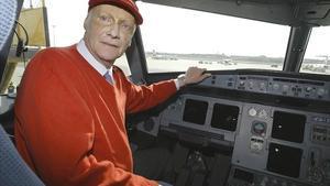 Una imagen de archivo del expiloto austríaco Niki Lauda.