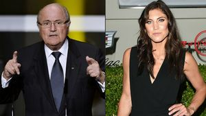 La portera Hope Solo acusa Blatter d'assetjament sexual