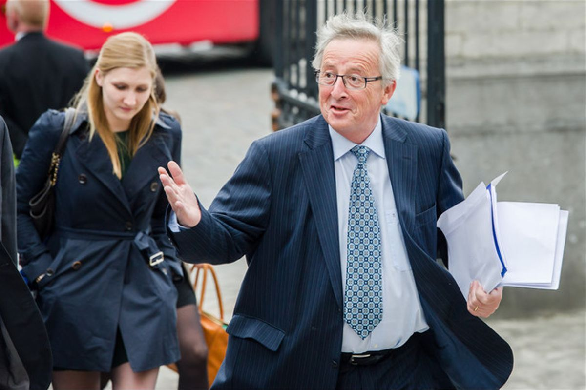 Jean-Claude Juncker, el pasado 27 de mayo en Bruselas.