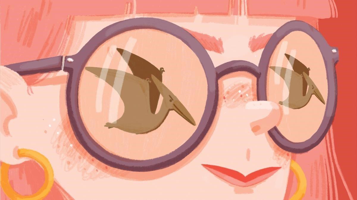 Cuando esto sea una historia, por Rosa Rivas, ilustración de Anna Baquero.