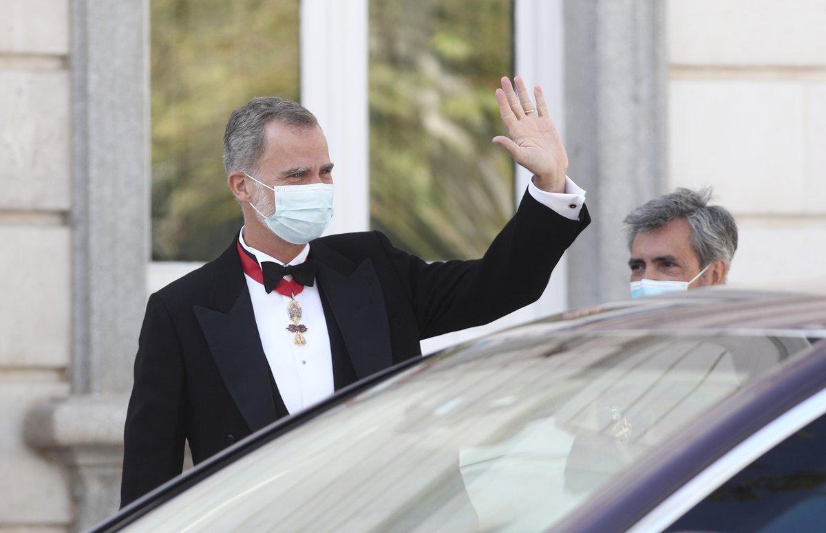 El Rey, en el acto de apertura del año judicial, el 7 de septiembre en Madrid.