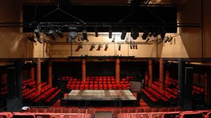Interior del Teatro Galileo, en Madrid.
