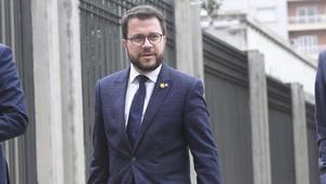 """Aragonès: """"La ATC demuestra que la Generalitat puede asumir responsabilidades de Estado"""""""