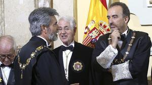 El juez Manuel Marchena durante el acto de apertura del Año Judicial