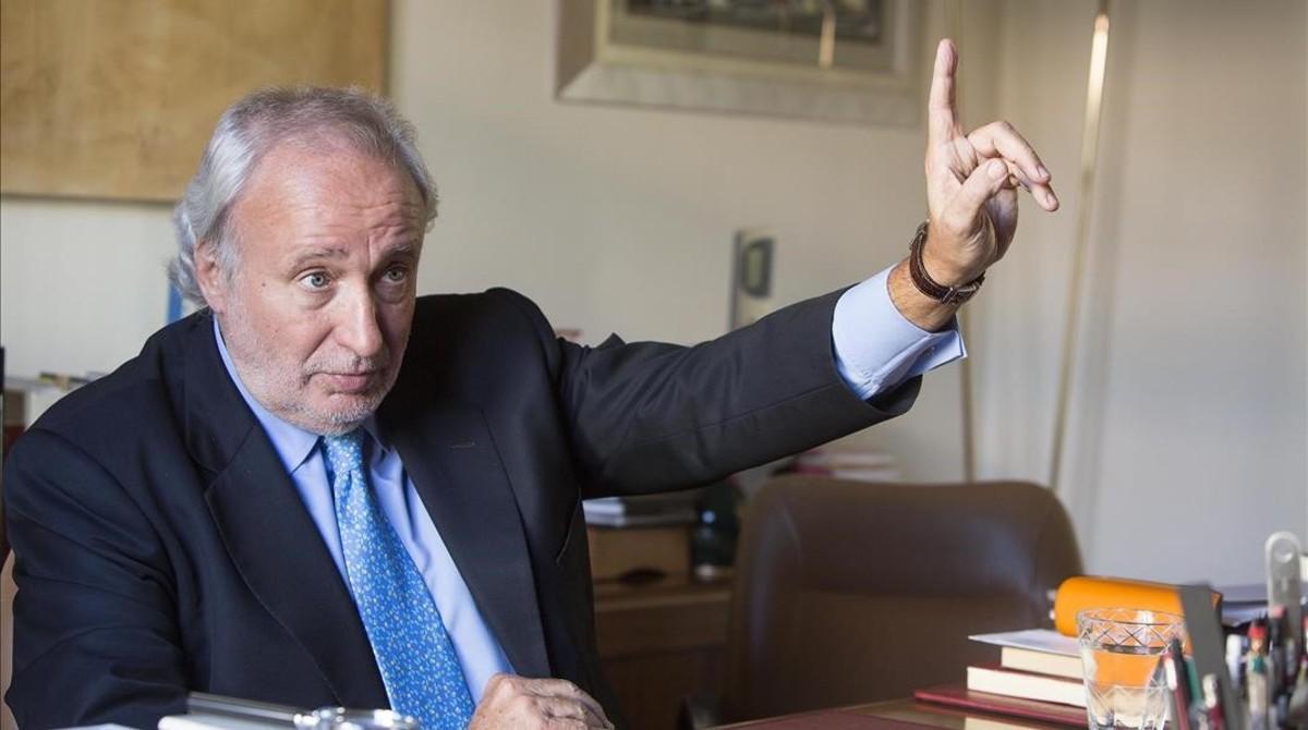 El líder de Lliures, Antoni Fernández Teixidó,exdiputado y 'exconseller' de CDC.