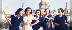 Petons i rialles a la Barcelona de 1932