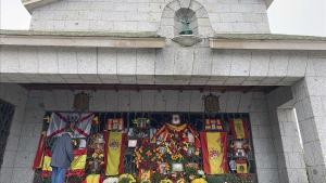 El franquisme erigeix a El Pardo un altar al dictador