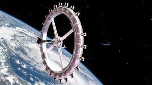 El primer hotel espacial, 'Voyager Station' abrirá sus puertas a los turistas en 2027.