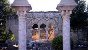 La ciudad califal de Medina Azahara, enla sierra de Córdoba.