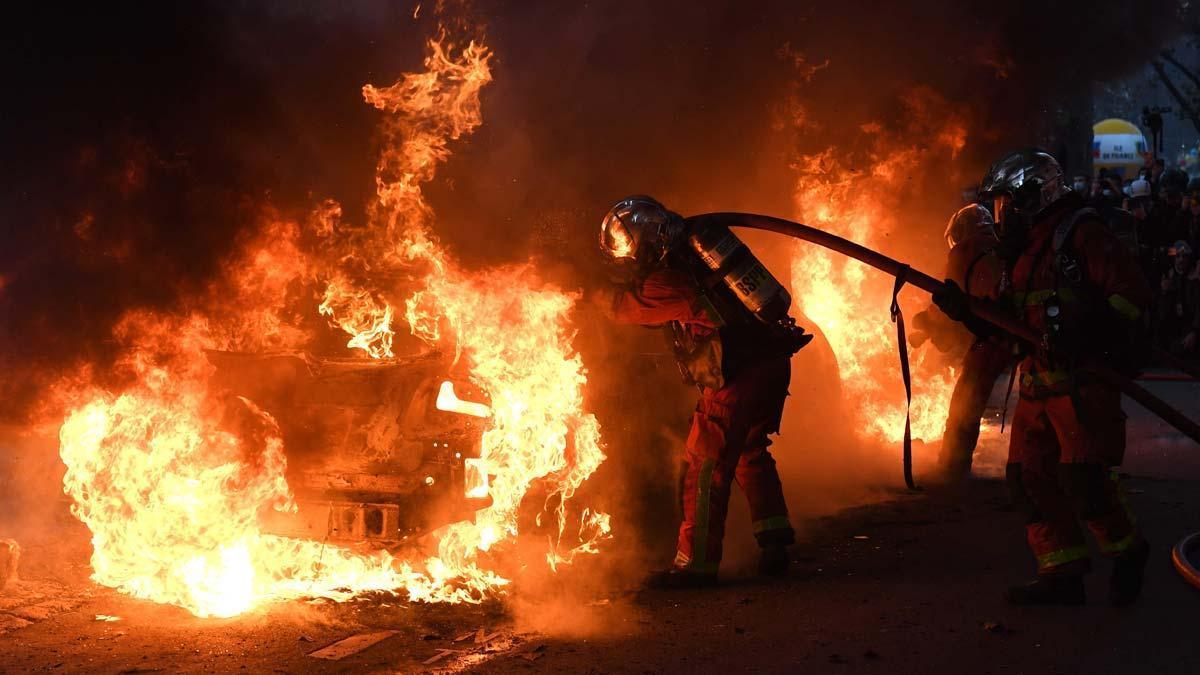 Grans protestes a França contra la nova llei de seguretat