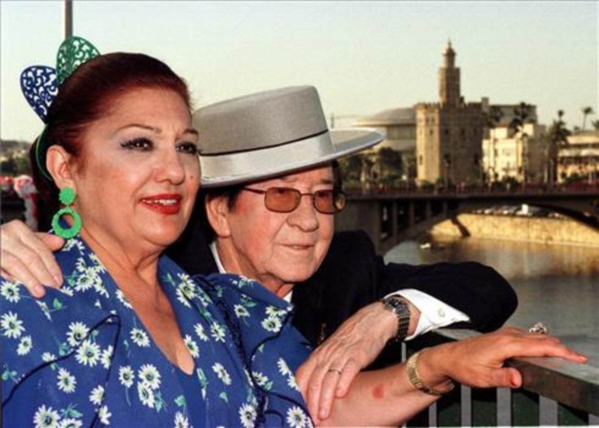 Mor Dolores Abril, la viuda de Juanito Valderrama