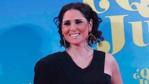 Rosa López en el prestreno de '¿Qué te juegas?'.