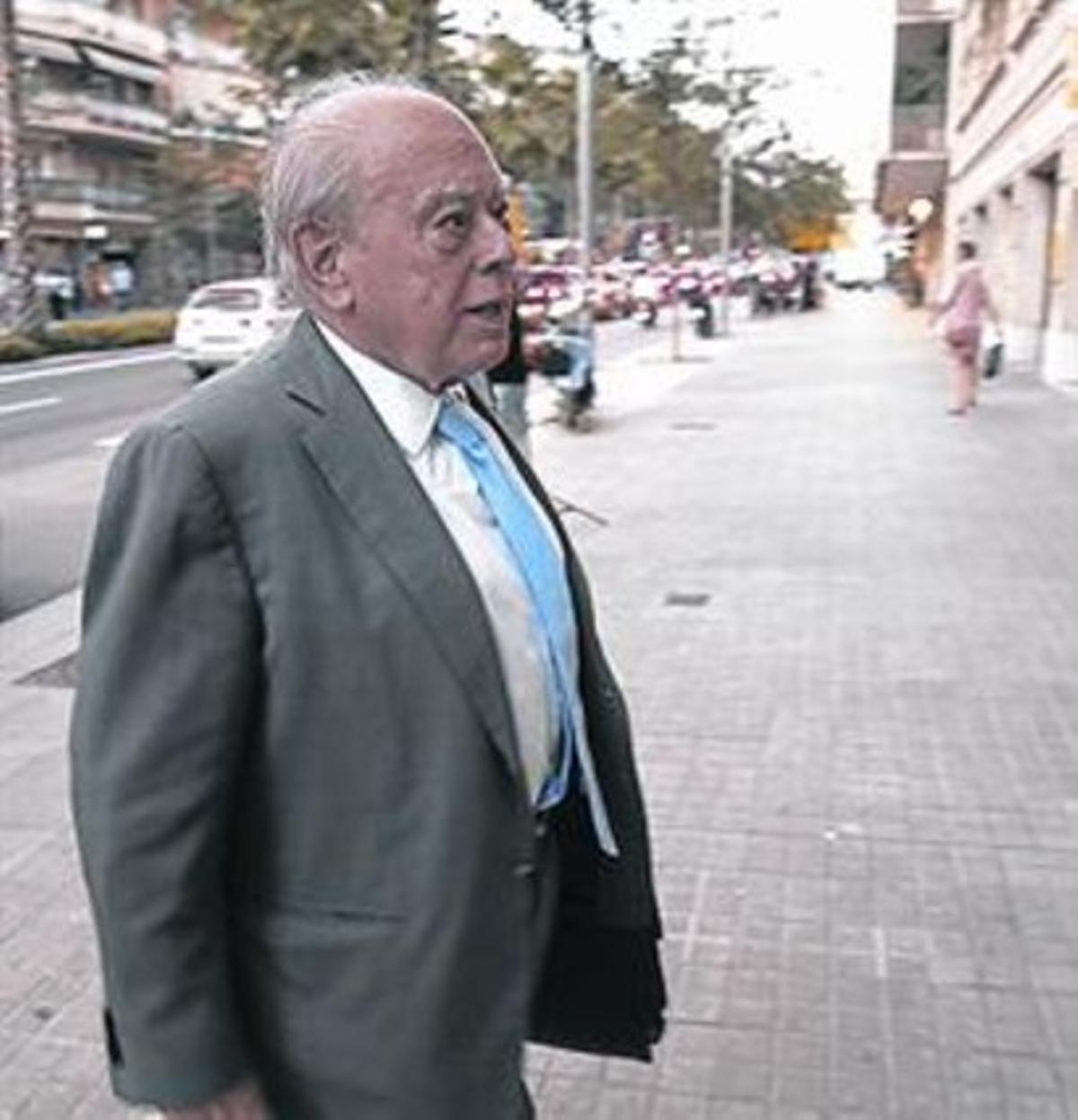 Jordi Pujol, el pasado día 1.