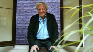 El escritor y periodista Jorge Martínez Reverte, en 2007 en Madrid.