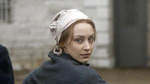 Sarah Gadon, en la serie 'Alias Grace'.