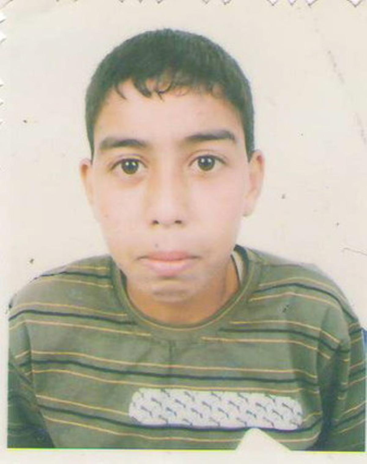 Elgarhi Nayem Foidal Mohamed Sueidi, el saharaui de 14 años fallecido ayer cuando intentaba acceder a un campamento de protesta instalado cerca de El Aaiún, en el Sáhara Occidental.