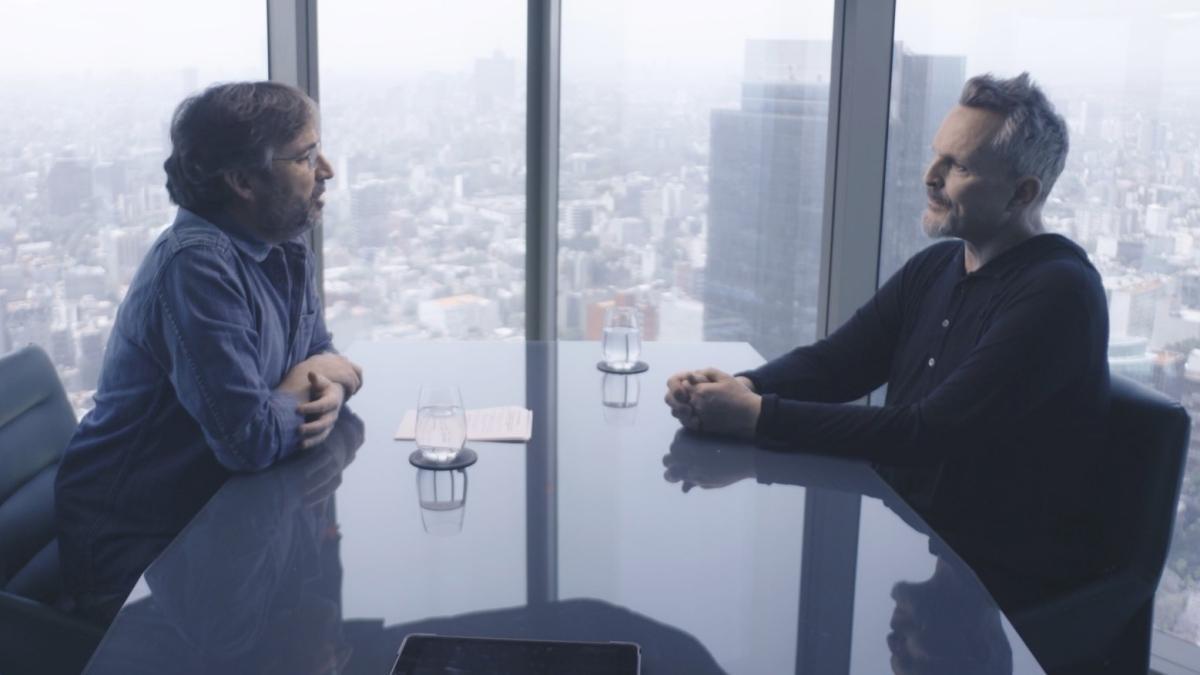 Jordi Évole y Miguel Bosé en la nueva entrega de 'Lo de Évole'.