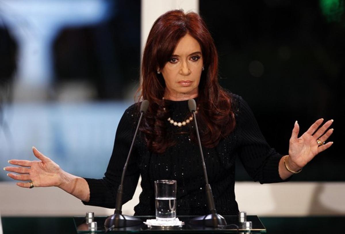 La expresidenta de Argentina, Cristina Fernandez de Kirchner.