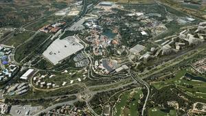 Imagen virtual del Centro Recreativo Turístico (CRT) de BCN World.